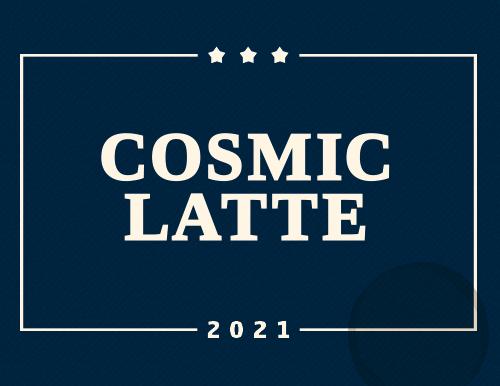 Artwork für Cosmic Latte
